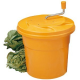 Центрифуга д/сушки зелени;  пластик;  12л;  D=33,H=44см;  оранжев.