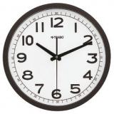 Часы настенные;  пластик;  D=30,5см