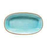 Bonna AQUA AURA Блюдо овальное AAQ GRM 24 OKY (24 см, голубой)