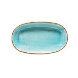 Bonna AQUA AURA Блюдо овальное AAQ GRM 34 OKY (34 см, голубой)