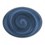 Bonna Aura Dusk Блюдо овальное ADK MOV 31 OV (31х24 см, синий)