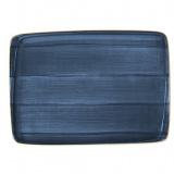 Bonna Aura Dusk Блюдо прямоугольное ADK MOV 26 DT (23х16 см, синий)