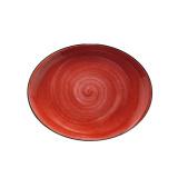 Bonna PASSION AURA Блюдо овальное без борта APS MOV 31 OV (31х24 см, красный)