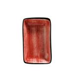 Bonna PASSION AURA Блюдо прямоугольное APS MOV 16 DKY (15х9 см, красный)