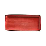 Bonna PASSION AURA Блюдо прямоугольное APS MOV 49 DT (48х15 см, красный)