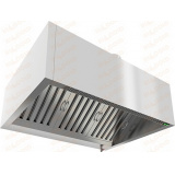 ЗКВПО-1013 зонт вытяжной пристенный коробчатый