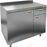 НБМКМ-8/6Б стол для кофемашин с бортом