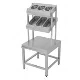 Диспенсер для столовых приборов, хлеба и подносов ДП-076/L