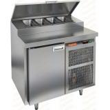 PZ2-1/GN стол холодильный для пиццы