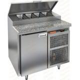 PZ1-1/GN КАМЕНЬ стол холодильный для пиццы