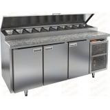 PZ2-111/GN КАМЕНЬ стол холодильный для пиццы