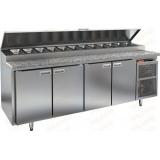 PZ1-1111/GN КАМЕНЬ стол холодильный для пиццы