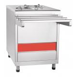 Прилавок ПТЭ-70КМ-80 для подогрева тарелок (80 тарелок, 2х240, 630 мм, нерж.)