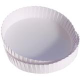 Крышка на стакан, картонная, диам. 8 см., белая
