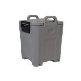 Термоконтейнер для супов T19S (серый, 35л, нерж. вставка, на колесах)