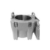 EKSI Термоконтейнер для супов T22S (серый, 30л, круглая нерж. вставка, на колесах)