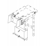 Блок д/разгрузки подносов нейтральный PS 1
