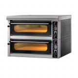 GAM International s.r.l. Печь для пиццы серии MS, модель FORMS44TR400TOP с навесом