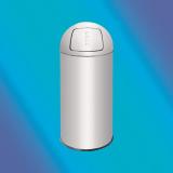 Jofel Ind.,S.A. Контейнер для мусора 35л с крышкой-качель PUSH AL72035SV
