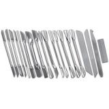 1200018 набор ножей карбовочных (18 предметов)