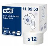 Tork Бумага туалетная 110253 (мини рулоны 2сл,170м)