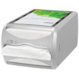 Tork Диспенсер 272513 д/салфеток Interfold емкость 550 шт. (серый)