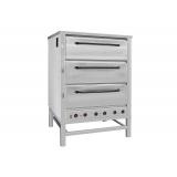 Печь хлебопекарная электрическая ХПЭ-500 (нерж., в обрешетке)