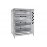 Печь хлебопекарная электрическая ХПЭ-750 модель 4С (со стеклян. дверьми, в обрешетке)