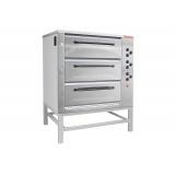 Печь хлебопекарная электрическая ХПЭ-750/3 (нерж., в обрешетке)
