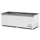 Ларь-витрина низкотемпературный т.м.EQTA ЛВН 2500 (ЛБ М 2500) СП (Без бампера, RAL 9016)