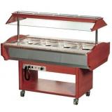 Холодильный салат-бар т.м. EQTA серии SB, мод. SB 4C (Mahogany)