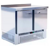 Шкаф-стол морозильный т.м. EQTA серия Smart СШН-0,2 GN-1000 NDSBS (нержавейка)