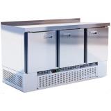 Шкаф-стол холодильный т.м.EQTA серия Smart СШС-0,3 GN-1500NDSBS (нержавейка)