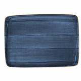 Bonna Aura Dusk Блюдо прямоугольное ADKMOV41DT (36х25 см, синий)