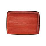 Bonna PASSION AURA Блюдо прямоугольное APS MOV 41 DT (36х25 см, красный)
