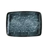 Bonna Sepia Envisio Прямоугольное блюдо SPA MOV 26 DT (23x16 см, чернильный цвет)