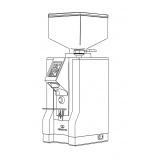 Eureka Кофемолка модель MIGNON PERFETTO 50 (серый)