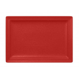 NFCLRP33BR Тарелка прямоуг. 33x23 см., плоская, фарфор
