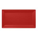 NFCLRP38BR Тарелка прямоугольная 38x21 см., плоская, фарфор