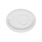 БЛЮДЦЕ ОВАЛЬНОЕ ФАРФОР TOP LIFE 16СМ 001.012546