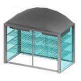 ВИТРИНА БЕЗ ДНА EMAINOX 8VTRT15 8045222 НАСТОЛЬНАЯ