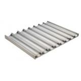 ЛИСТ ДЛЯ БАГЕТ BASSANINA FTVO6080 8 ВОЛН ПРОДОЛЬНЫХ 600X800