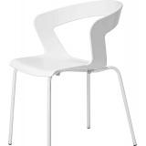 СТУЛ METALMOBIL IBIS ХРОМ/ПЛАСТ. ART.002