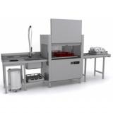 Машина посудомоечная Apach ARC100 (T101) ТУННЕЛЬНАЯ ДОЗ+CW+СУШ Л/П