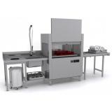 Машина посудомоечная Apach ARC100 (T101) ТУННЕЛЬНАЯ ДОЗ+CW+СУШ П/Л