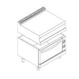 Шкаф жарочный электрический 700 серии для установки модулей 700серии APACH CHEF LINE LFE87