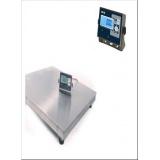 Весы платформенные MAS PM4PHS-1.0 1000х1000 (с индикатором на стойке)