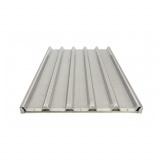 Противень багетный, 600*400 мм, 5 волн по длинной стороне, алюминиевая рама, без покрытия