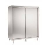 Шкаф для продуктов высотой 2000 мм, 3 полки, 2 раздвижные дверцы, 1200 мм