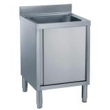 Мойка на шкафу, 1 бак 500х500 мм, 700 мм